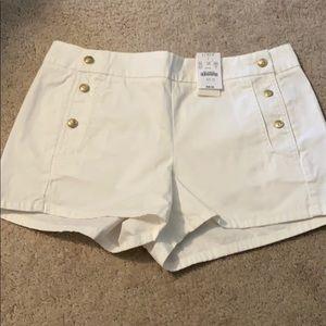 J crew sailor shorts